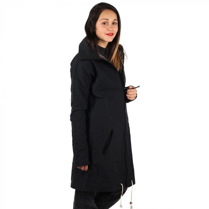 Jacheta din bumbac - NEGRU 3