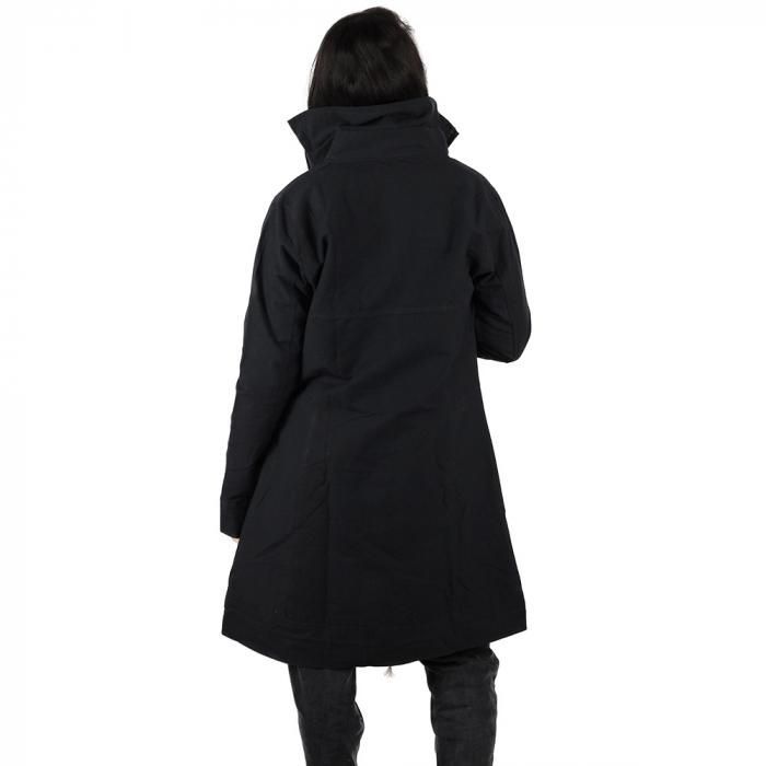 Jacheta din bumbac - NEGRU 4