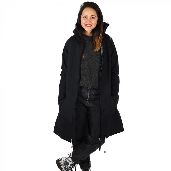 Jacheta din bumbac - NEGRU 5