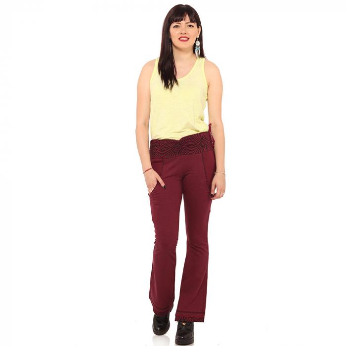 Pantaloni burgundy - Spirals 0