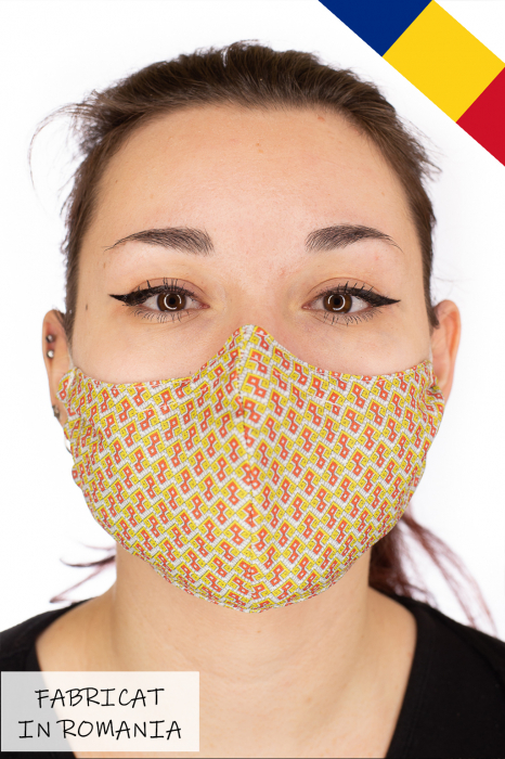 Masca bumbac cu filtru pentru adulti - Motiv 7 0