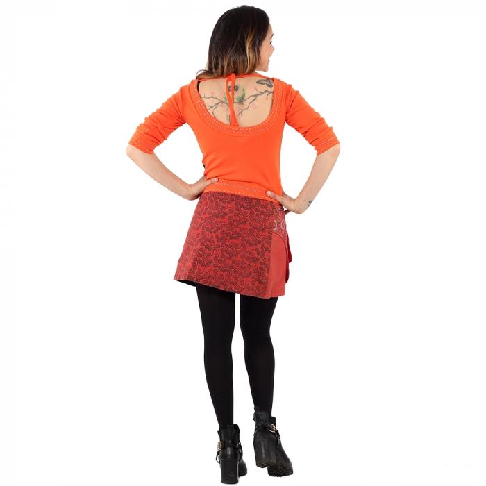 Top scurt - orange [2]