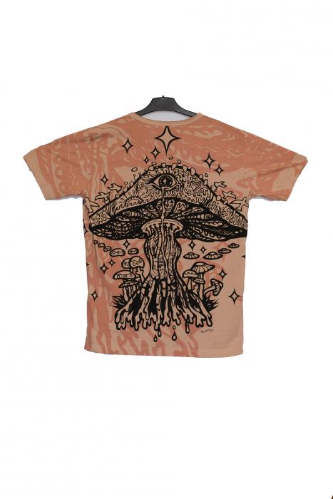 Tricou Melting Mushroom crem - Marime XL 1