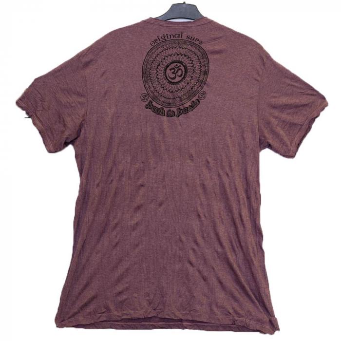 Tricou OM Back to Basic Purple Marime XL 1