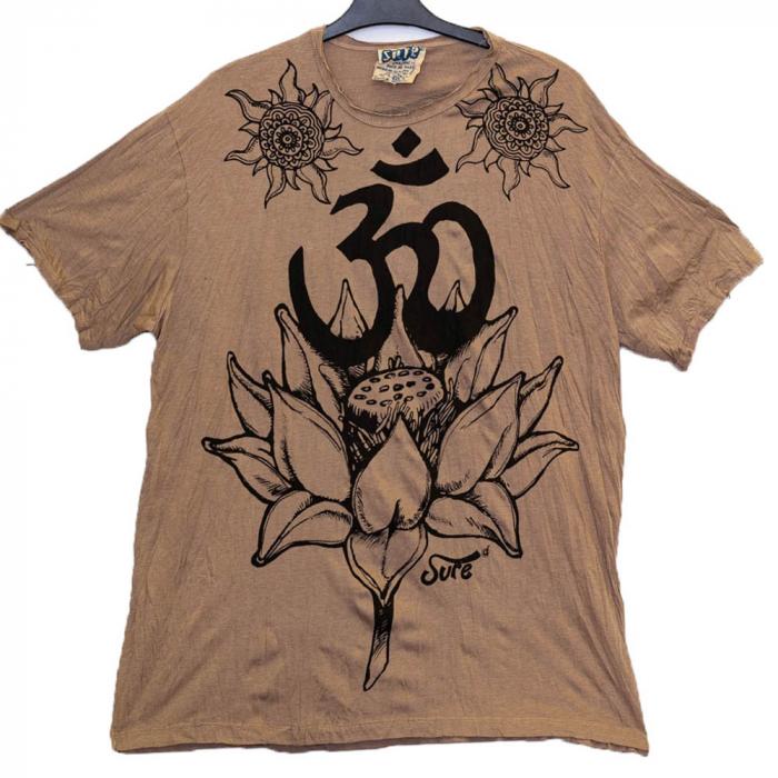 Tricou OM Lotus Flower Marime XL 0