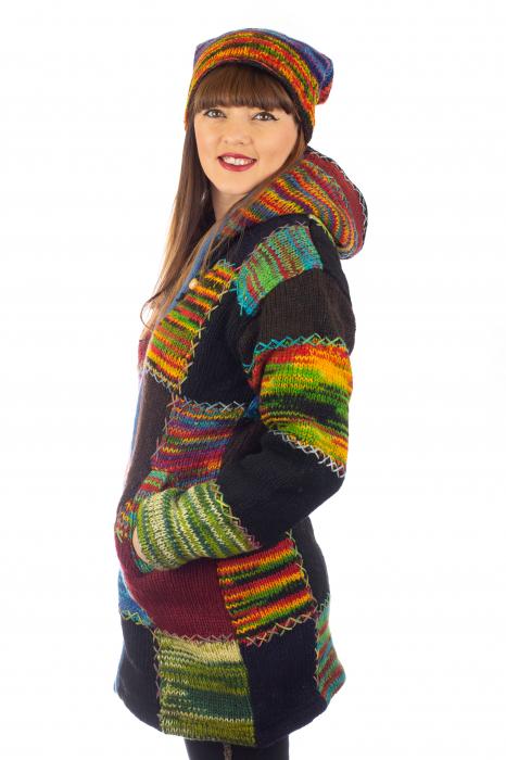 Jacheta de lana - Autumn Patch 3