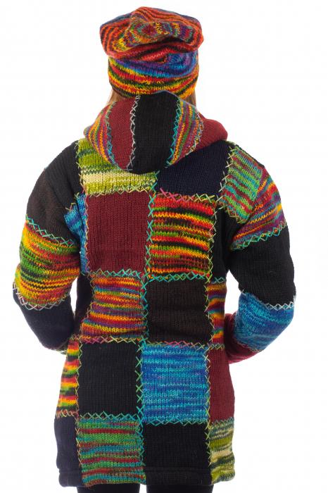 Jacheta de lana - Autumn Patch 5