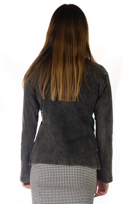 Bluza colorata cu patch-uri - Multicolor [3]