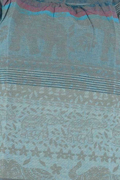 Bluza din bumbac cu maneca scurta  - Color combo 1 2
