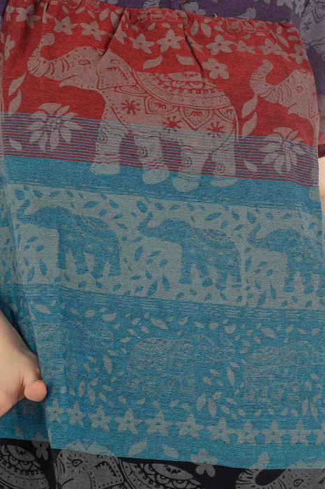 Bluza din bumbac cu maneca scurta  - Color combo 2 1