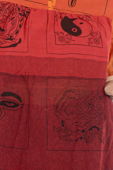 Bluza din bumbac cu maneca scurta  - Color combo 5 1
