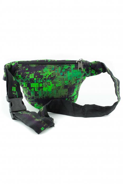 Borseta Tie Dye - Bufnita verde 4