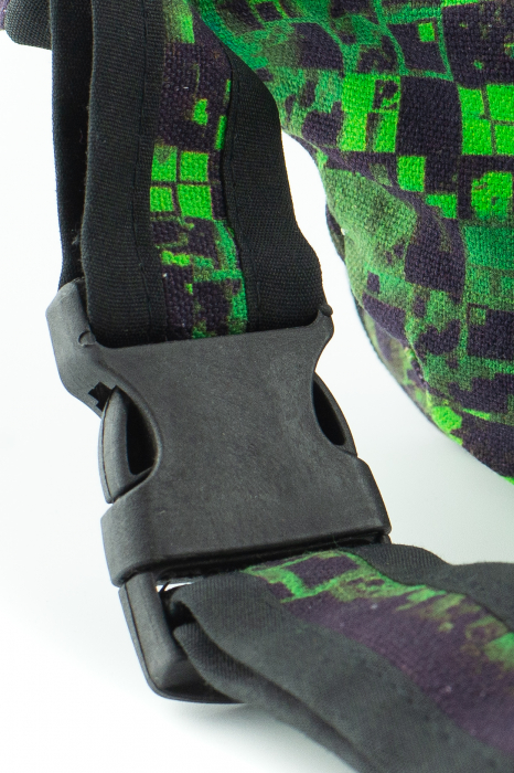 Borseta Tie Dye - Bufnita verde 5