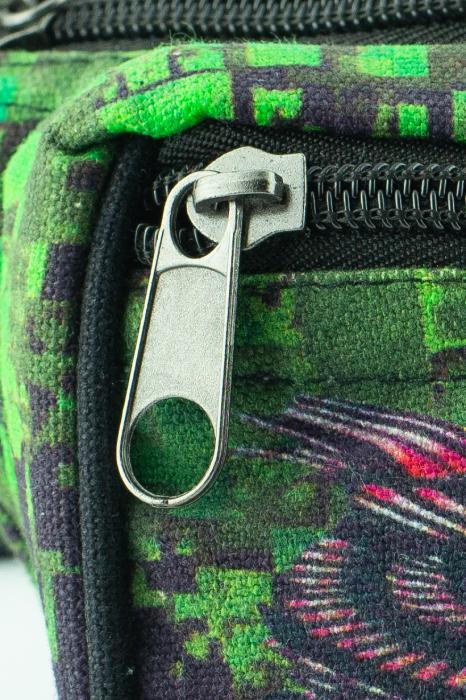 Borseta Tie Dye - Bufnita verde 2