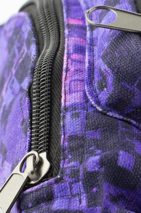 Borseta Tie Dye - Bufnita Mov [4]