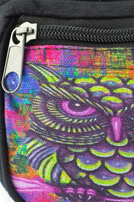 Borseta Tie Dye - Bufnita multicolor [2]