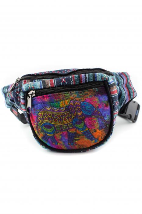 Borseta Tie Dye - Colored Elephant 2 0