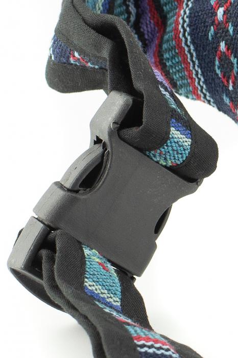 Borseta Tie Dye - Horse Albastru 4
