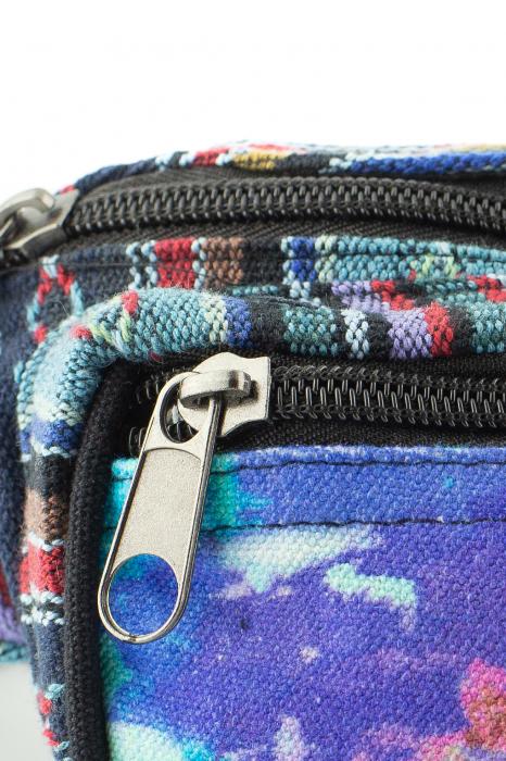 Borseta Tie Dye - Horse Albastru [1]
