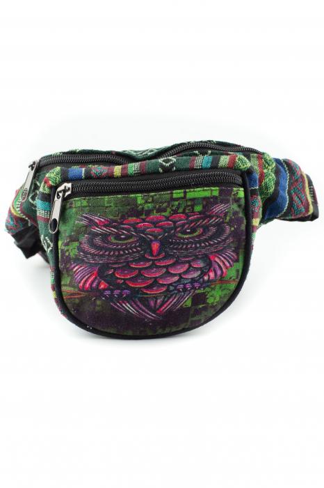 Borseta Tie Dye - Graffiti Owl [0]