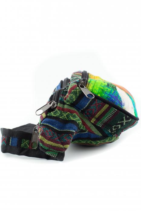 Borseta Tie Dye - Horse Green 2