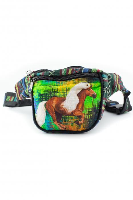 Borseta Tie Dye - Horse Green 0