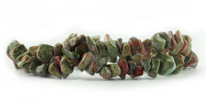 Bratara compusa dintr-un element - Lapis lazuli verde [1]