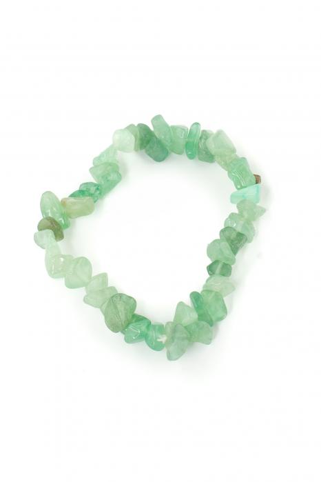 Bratara compusa dintr-un element - Lapis lazuli Verde 0