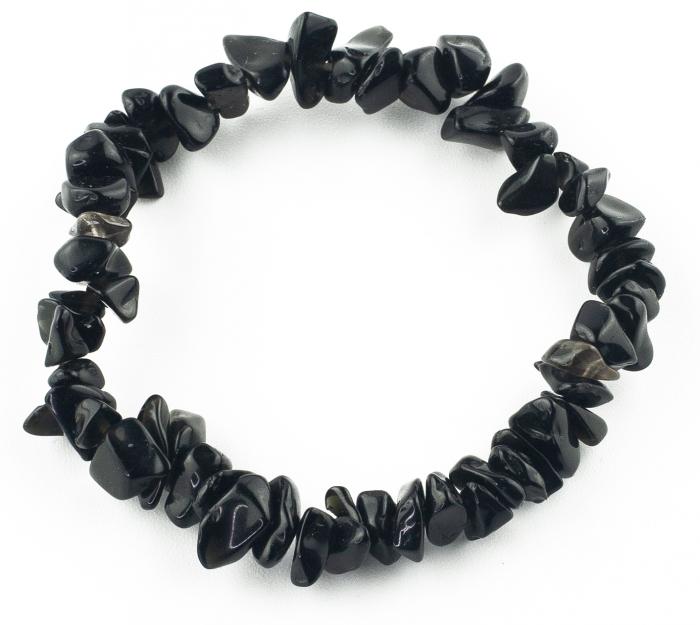 Bratara compusa dintr-un element - Coral Negru 2