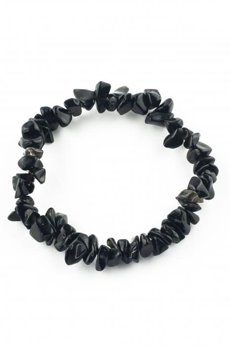 Bratara compusa dintr-un element - Coral Negru 0