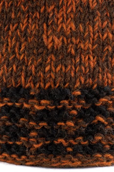 Caciula din lana - Black and Brown 2