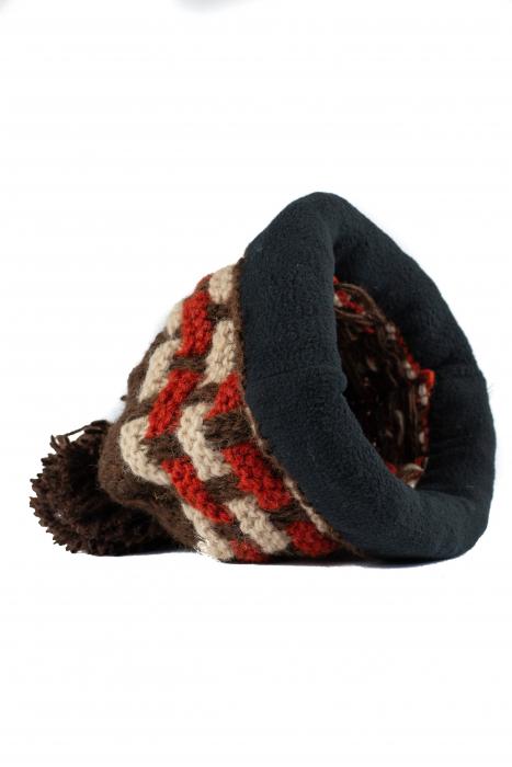 Caciula din lana - Brown 5