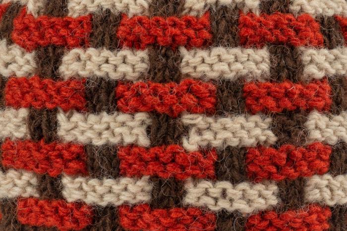 Caciula din lana - Brown 3