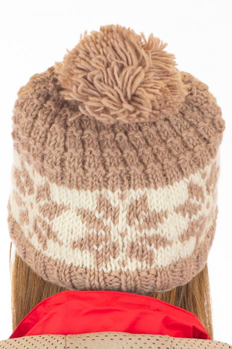 Caciula din lana - Snowflake 4