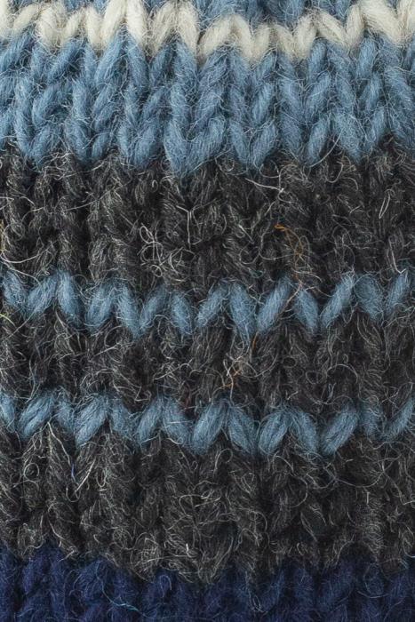 Caciula din lana cu ciucure - Blue Lines 2