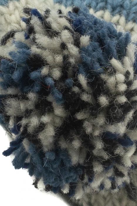 Caciula din lana cu ciucure - Blue Lines 3
