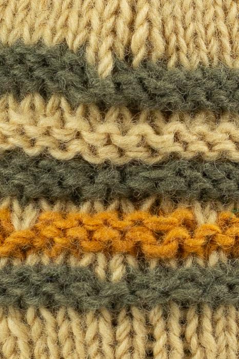 Caciula din lana cu urechi - Ivory 2