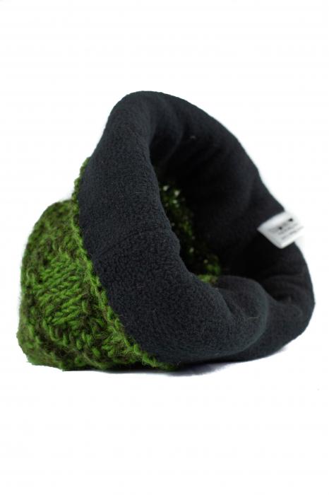 Caciula din lana - Green 6