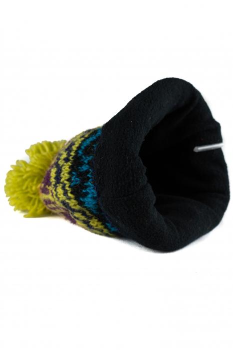Caciula din lana Green copii - Multicolor 1