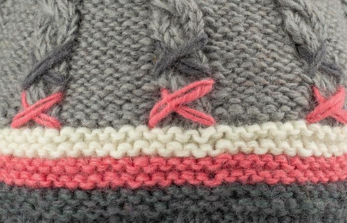 Caciula din lana - Gri 2