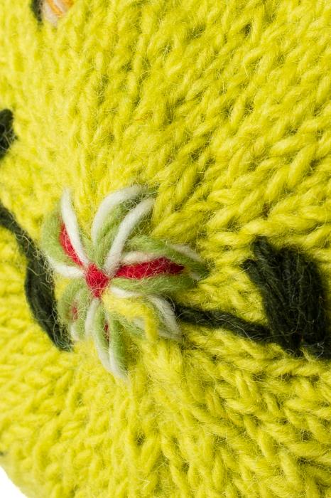 Caciula din lana - Lime [4]