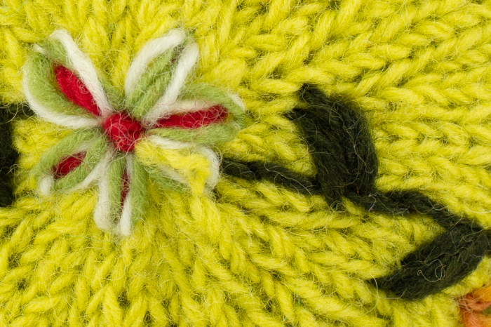 Caciula din lana - Lime [7]