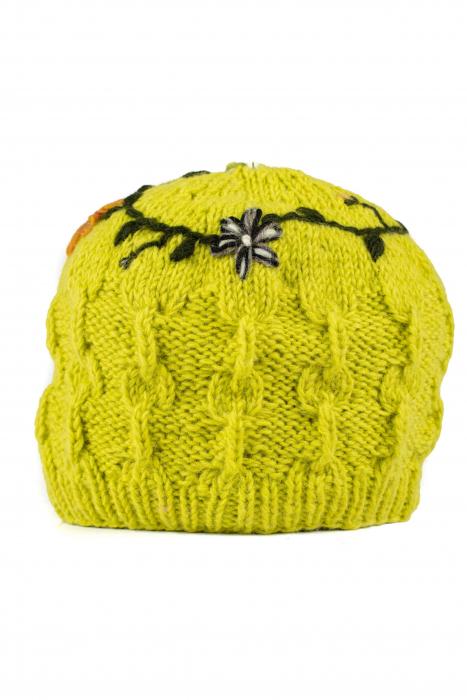 Caciula din lana - Lime [0]