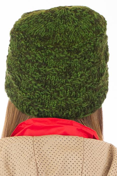 Caciula din lana - Green 7
