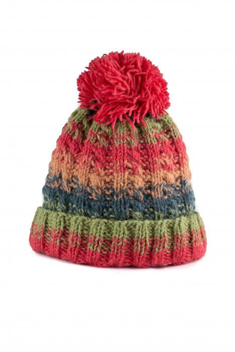 Caciula din lana - Rainbow 1