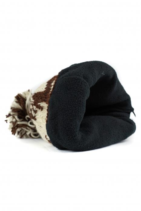 Caciula din lana copii - Reindeer 2