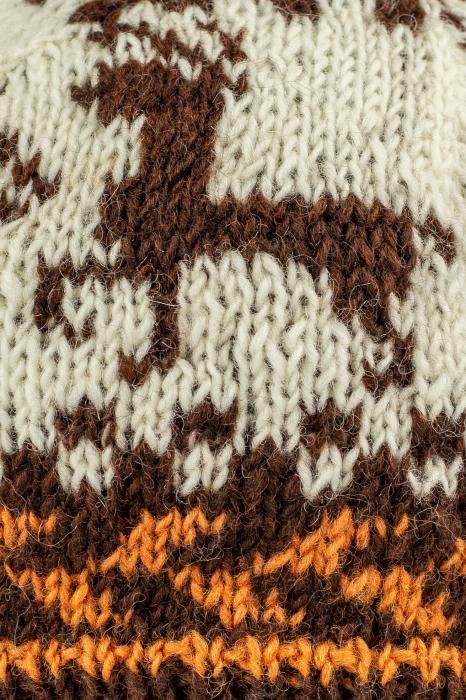 Caciula din lana copii - Reindeer 1