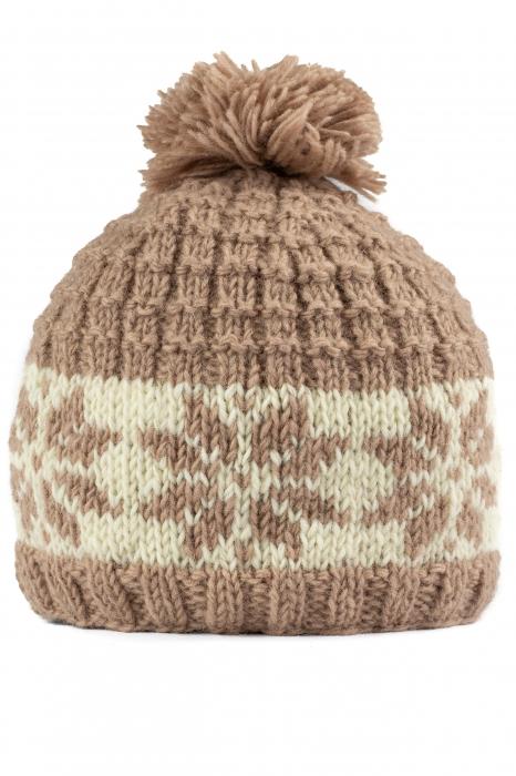 Caciula din lana - Snowflake 0