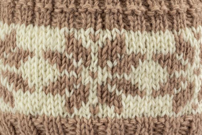 Caciula din lana - Snowflake 2
