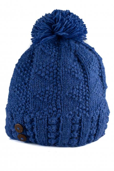 Caciula din lana - Ultraviolet 0